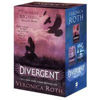 Divergent Trilogy by Veronica Roth Paperback Used cover