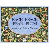 Each Peach Pear Plum by Allan Ahlberg Paperback Used cover
