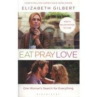 Eat Pray Love by Elizabeth Gilbert Paperback Used cover