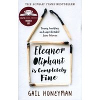 Eleanor Oliphant Is Completely Fine by Gail Honeyman Book Used cover