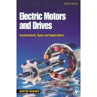 Electric Motors and Drives by Austin Hughes Book Used cover