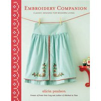 Embroidery Companion by Alicia Paulson Book Used cover