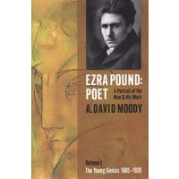 Ezra Pound Poet by A. David Moody Hardback Used cover
