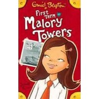First Term at Malory Towers by Enid Blyton Paperback Used cover