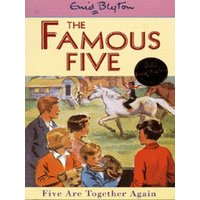 Five Are Together Again by Enid Blyton Paperback Used cover