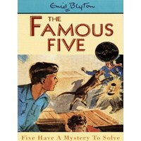 Five Have a Mystery to Solve by Enid Blyton Paperback Used cover