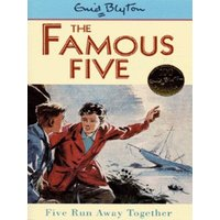 Five Run Away Together by Enid Blyton Paperback Used cover