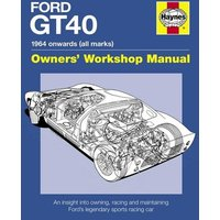 Ford Gt40 Manual by Gordon Bruce Hardback Used cover