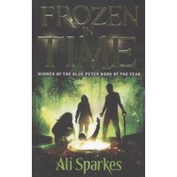 Frozen in Time by Ali Sparkes Book Used cover