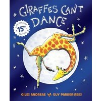 Giraffes Cant Dance by Giles Andreae Paperback Used cover