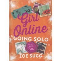 Girl Online Going Solo by Zoe Sugg Hardback Used cover