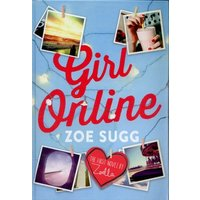 Girl Online by Zoe Sugg Hardback Used cover
