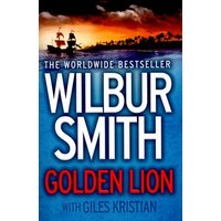 Golden Lion by Wilbur Smith Paperback Used cover