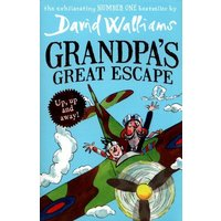 Grandpas Great Escape by David Walliams Book Used cover