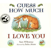 Guess How Much I Love You by Anita Jeram Book Used cover
