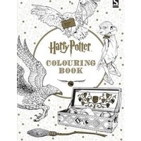 Harry Potter Colouring Book by Warner Brothers Paperback Used cover