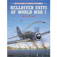 Helldiver Units of World War 2 by Barrett Tillman Book Used cover