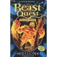 Hellion the Fiery Foe by Adam Blade Paperback Used cover