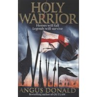 Holy Warrior by Angus Donald Paperback Used cover