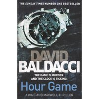 Hour Game by David Baldacci Paperback Used cover
