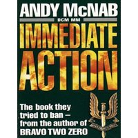 Immediate Action by Andy Mcnab Paperback Used cover