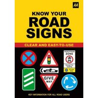 Know Your Road Signs by Automobile Association Paperback Used cover