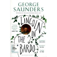 Lincoln in the Bardo by George Saunders Book Used cover