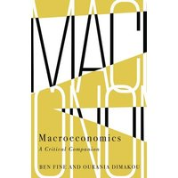 Macroeconomics by Ben Fine Book Used cover