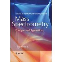 Mass Spectrometry by Edmond De Hoffmann Book Used cover