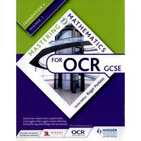 Mastering Mathematics for Ocr Gcse Foundation 2/higher 1 by Gareth Cole Book Used cover