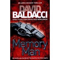 Memory Man by David Baldacci Paperback Used cover