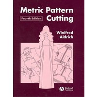 Metric Pattern Cutting by Winifred Aldrich Hardback Used cover