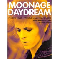 Moonage Daydream by David Bowie Hardback Used cover