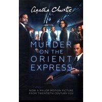 Murder on the Orient Express by Agatha Christie Book Used cover
