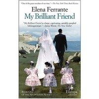 My Brilliant Friend by Elena Ferrante Paperback Used cover
