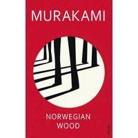 Norwegian Wood by Haruki Murakami Paperback Used cover