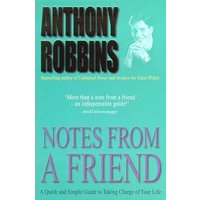 Notes from a Friend by Tony Robbins Paperback Used cover