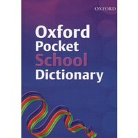 Oxford Pocket School Dictionary by Andrew Delahunty & Fred Mcdonald Paperback Used cover