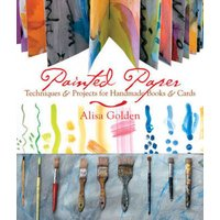Painted Paper by Alisa Golden Book Used cover