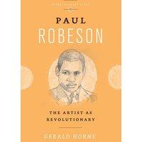Paul Robeson by Gerald Horne Book Used cover