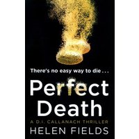 Perfect Death by Helen Fields Book Used cover