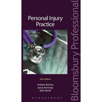 Personal Injury Practice by Andrew Buchan Book Used cover