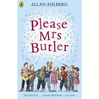 Please Mrs Butler by Allan Ahlberg Paperback Used cover