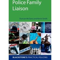 Police Family Liaison by Duncan Mcgarry Book Used cover