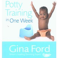 Potty Training in One Week by Gina Ford Paperback Used cover
