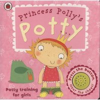 Princess Pollys Potty by Andrea Pinnington Book Used cover