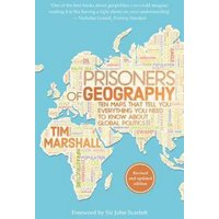 Prisoners of Geography by Tim Marshall Book Used cover