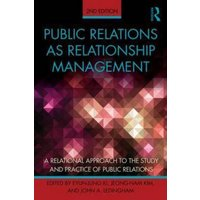 Public Relations As Relationship Management by Eyun-Jung Ki Book Used cover