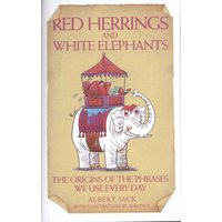 Red Herrings and White Elephants by Albert Jack & Ama Page Hardback Used cover