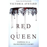 Red Queen by Victoria Aveyard Paperback Used cover